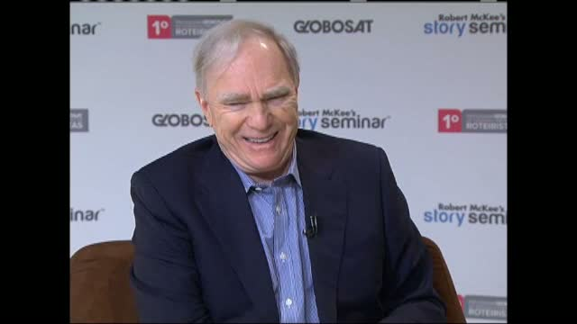 Robert McKee discusses Story with Globosat television in Brazil, Part 3.