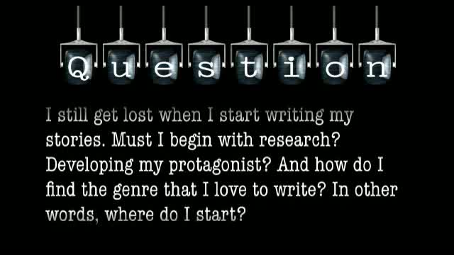 I still get lost when I start writing my stories. Do I begin with research or finding my protagonist, and how do I find the genre I love to write?