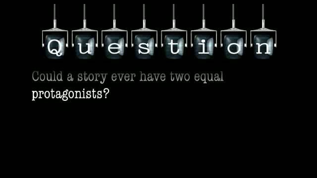 Could a story ever have two equal protagonists?