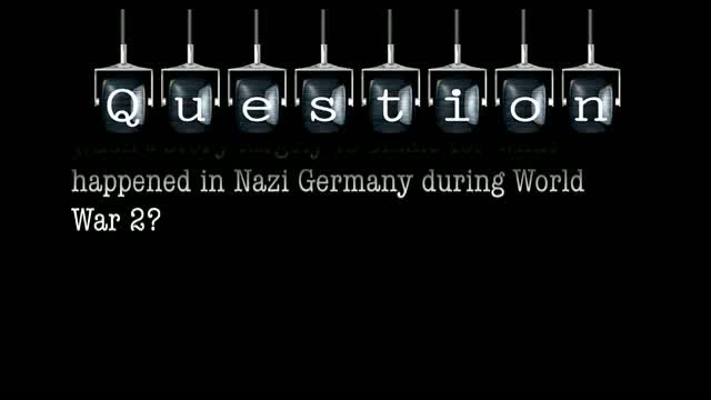 Wasn't story largely to blame for what happened in Nazi Germany during World War 2?
